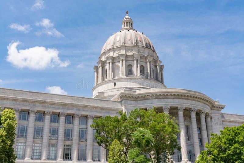 De Hoofdbouw van de Staat van Missouri stock afbeelding