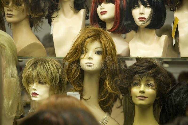 De hoofden van de ledenpop stock foto