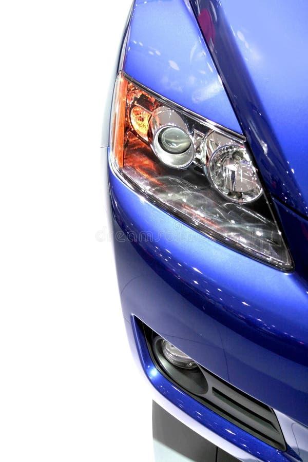 De HoofdLamp van de auto stock foto's