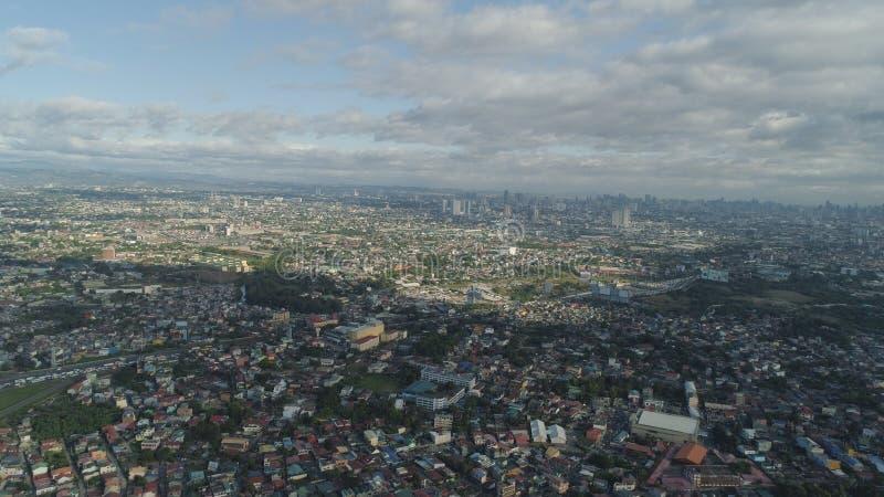De hoofdstad van de Filippijnen is Manilla royalty-vrije stock foto