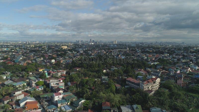 De hoofdstad van de Filippijnen is Manilla stock foto