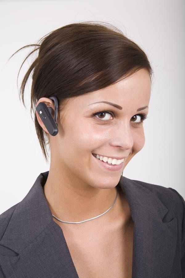 De hoofdtelefoon van Bluetooth stock afbeelding