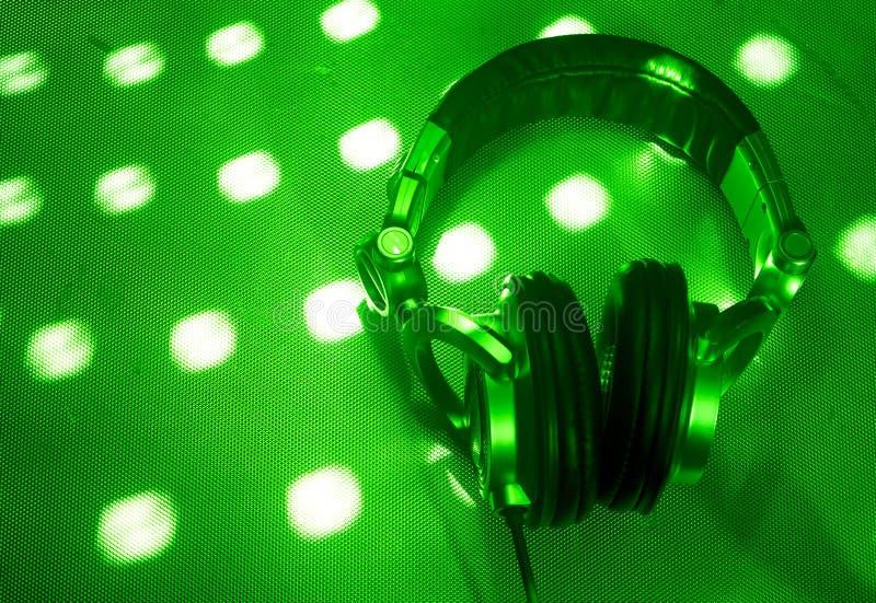 De hoofdtelefoons van DJ royalty-vrije stock afbeelding