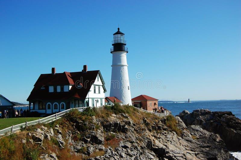 De HoofdVuurtoren van Portland, Maine, de V.S. royalty-vrije stock afbeelding