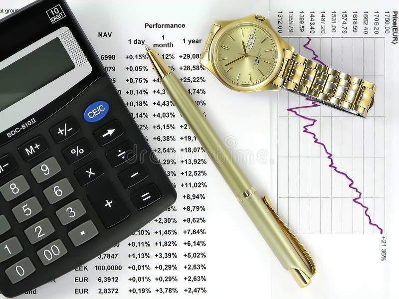 De hoofdzaak van de investering. royalty-vrije stock afbeelding