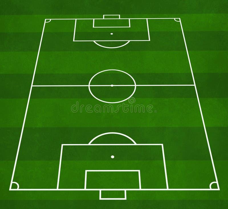 De hoogte van de voetbal stock illustratie