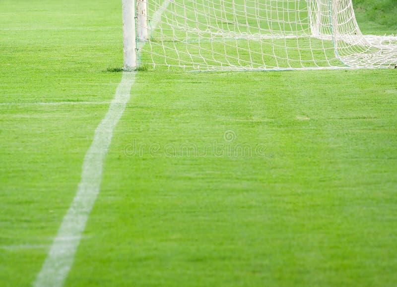 De hoogte van Footbal stock foto's