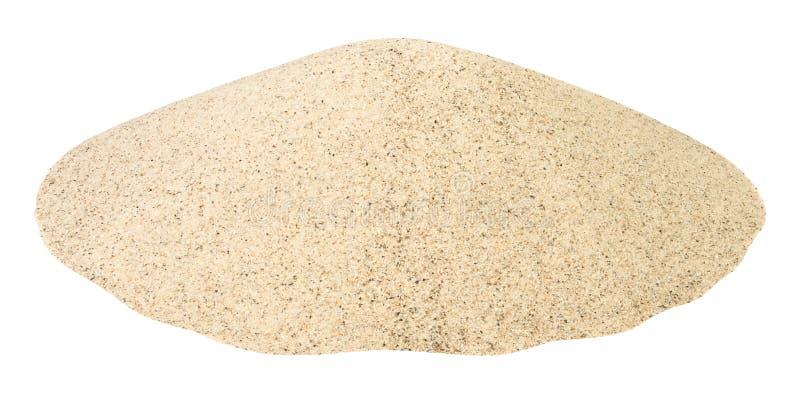De hoop van het zand stock afbeelding
