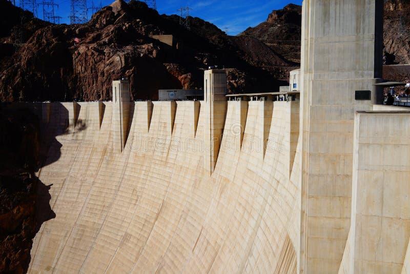 De Hoover-Dam a39 stock foto's