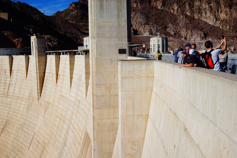 De Hoover-Dam a38 royalty-vrije stock afbeeldingen