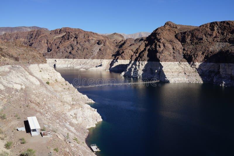 De Hoover-Dam b45 royalty-vrije stock foto's