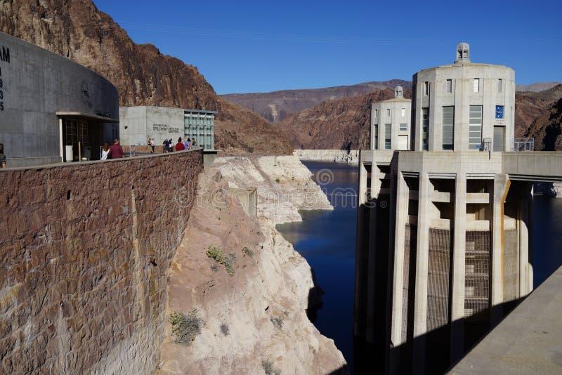 De Hoover-Dam b43 royalty-vrije stock foto's