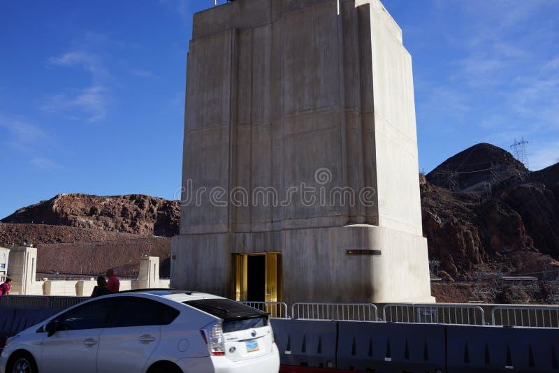 De Hoover-Dam b40 stock afbeeldingen