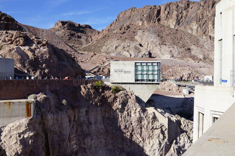 De Hoover-Dam b34 stock foto's