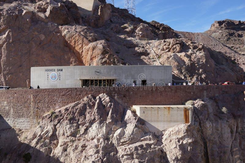 De Hoover-Dam b33 stock foto's