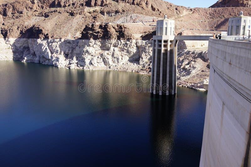 De Hoover-Dam b32 royalty-vrije stock foto