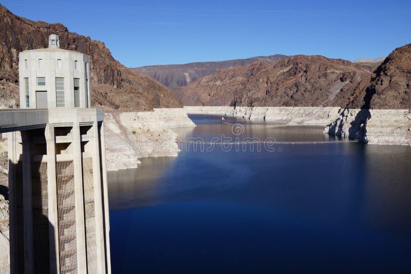 De Hoover-Dam b24 stock afbeeldingen