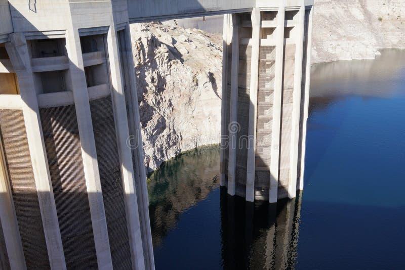 De Hoover-Dam b23 royalty-vrije stock foto's