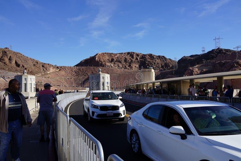 De Hoover-Dam b22 royalty-vrije stock afbeeldingen