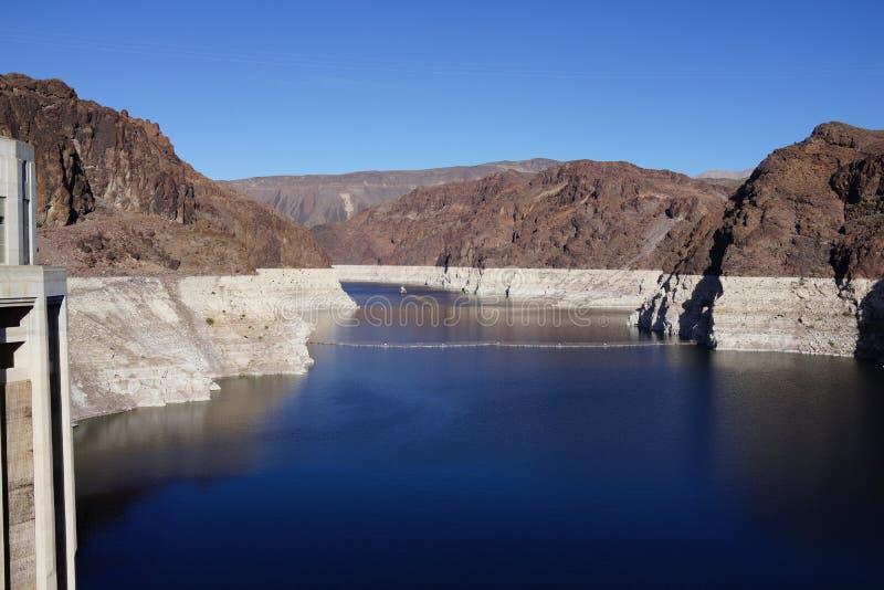 De Hoover-Dam b19 royalty-vrije stock afbeeldingen