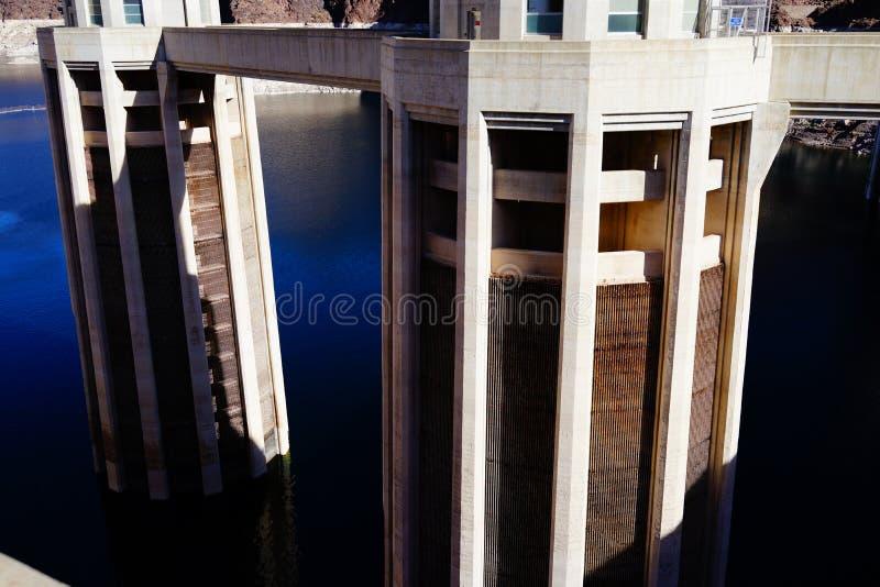 De Hoover-Dam c45 stock afbeelding