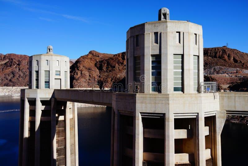 De Hoover-Dam c44 stock fotografie