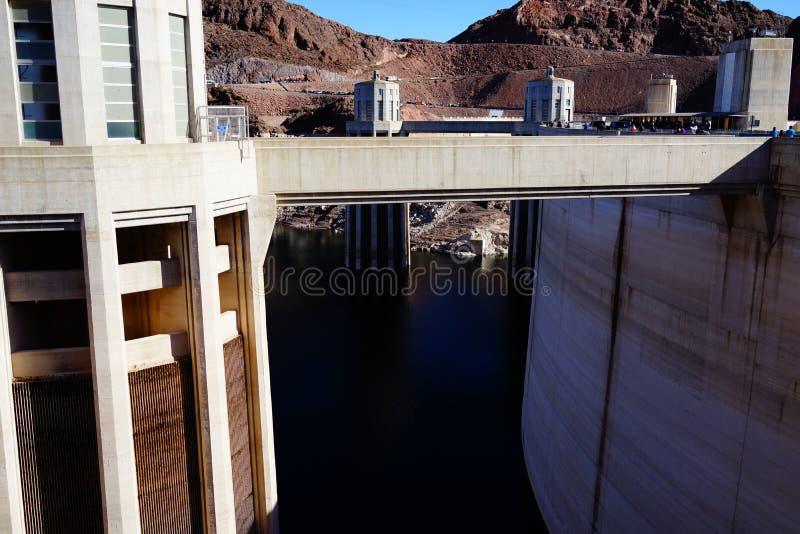 De Hoover-Dam c43 stock afbeelding