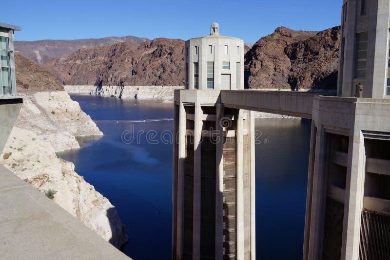 De Hoover-Dam c42 royalty-vrije stock foto