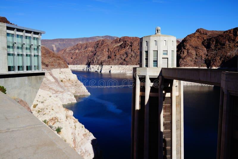 De Hoover-Dam c41 royalty-vrije stock fotografie