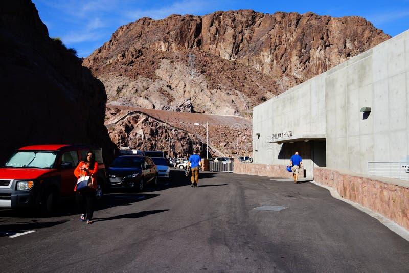 De Hoover-Dam c36 royalty-vrije stock foto's