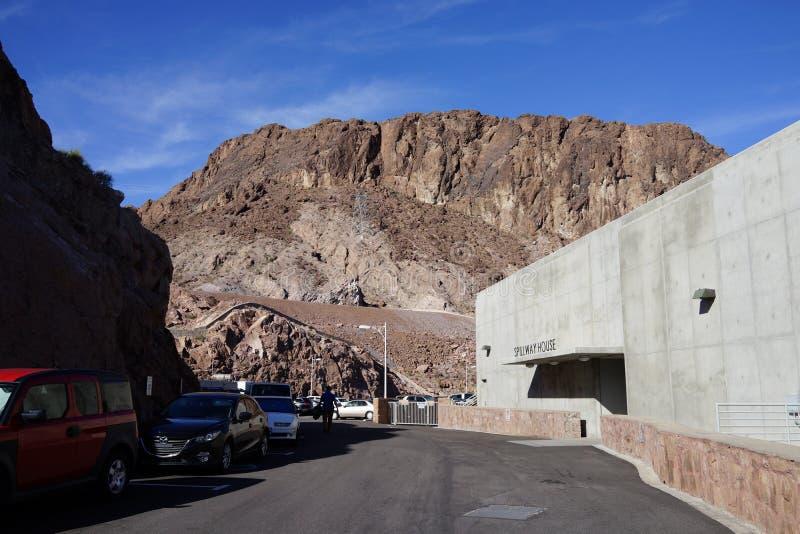 De Hoover-Dam c35 stock foto's
