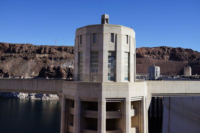 De Hoover-Dam c33 stock fotografie