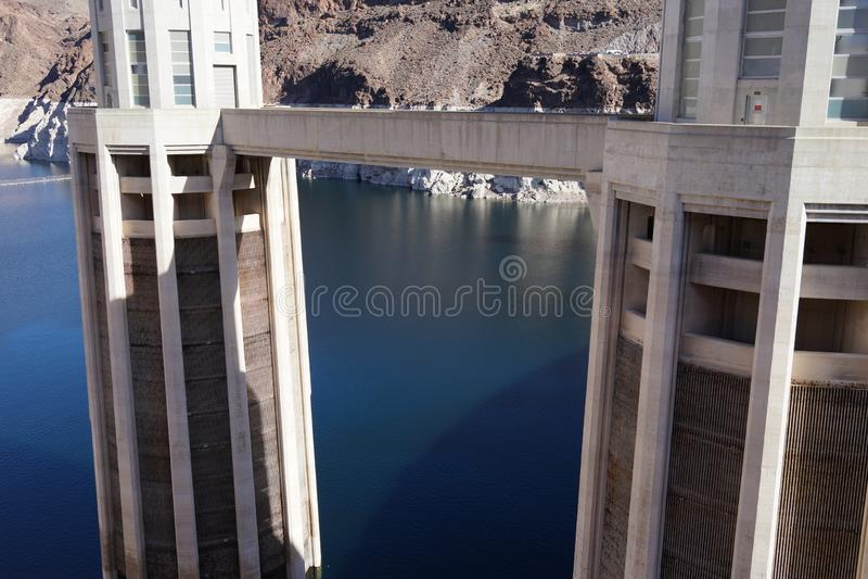 De Hoover-Dam c32 stock foto's