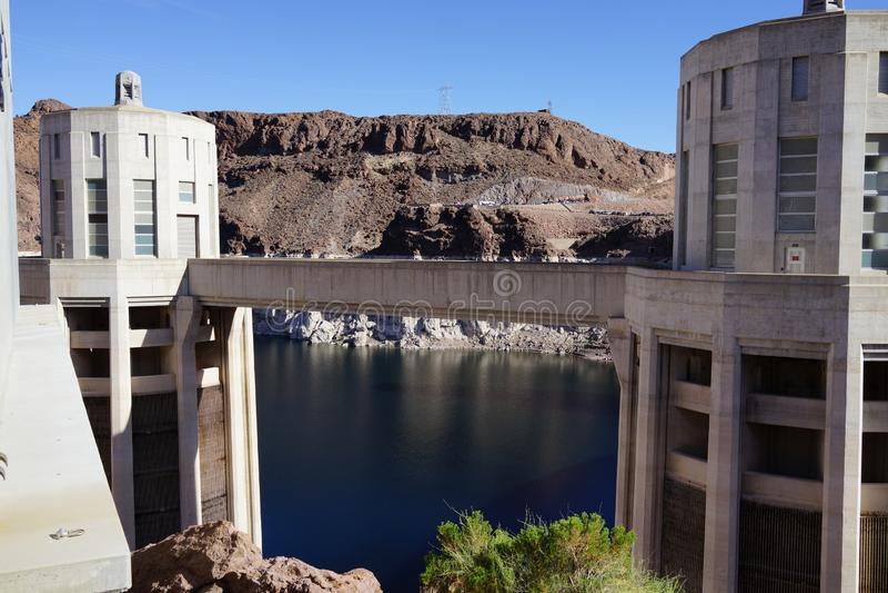 De Hoover-Dam c28 royalty-vrije stock foto