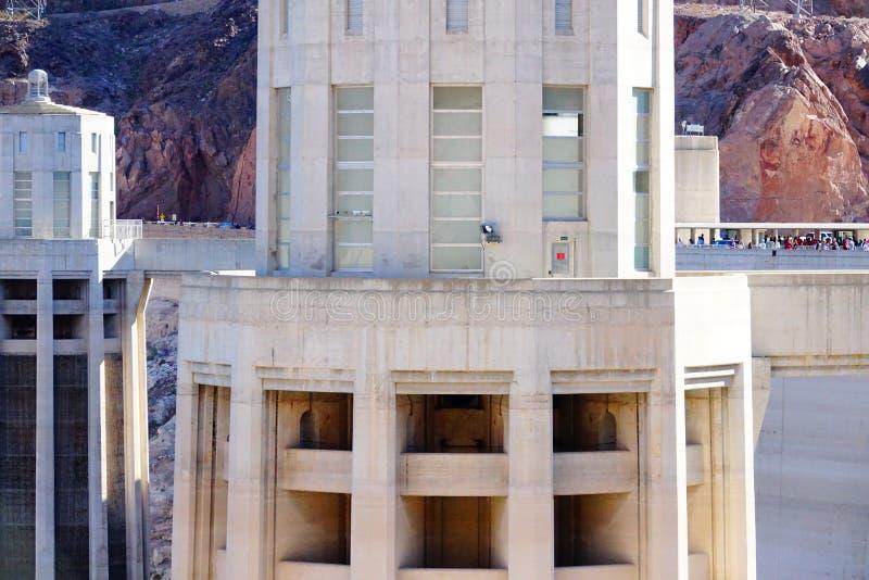 De Hoover-Dam d46 stock foto's