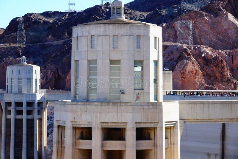 De Hoover-Dam d45 royalty-vrije stock afbeelding