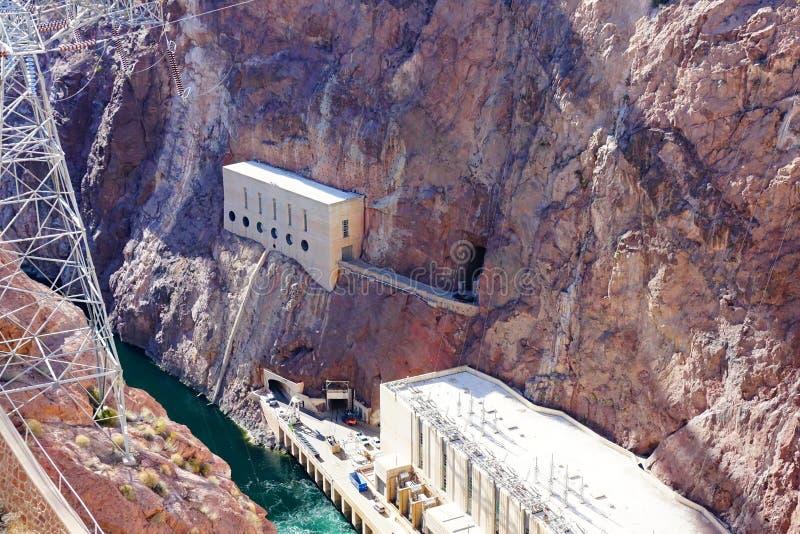 De Hoover-Dam d29 stock afbeelding