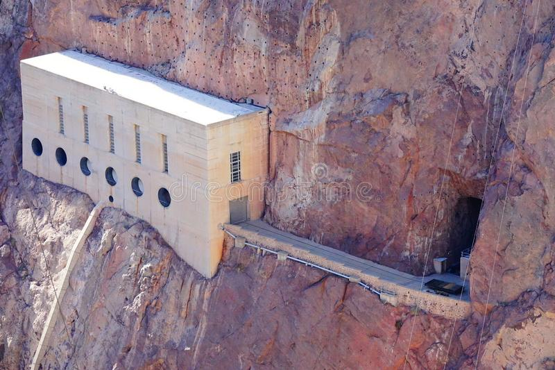 De Hoover-Dam d28 royalty-vrije stock foto
