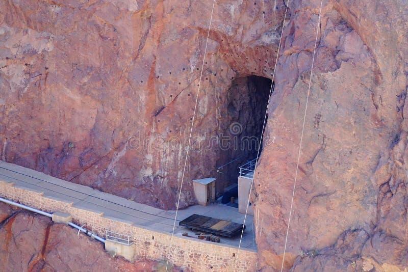 De Hoover-Dam d27 royalty-vrije stock afbeeldingen