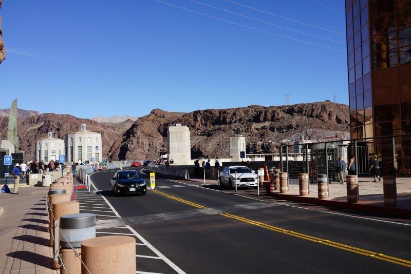 De Hoover-Dam d15 royalty-vrije stock foto's