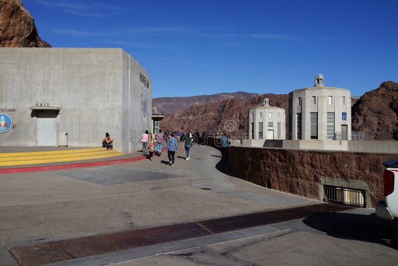 De Hoover-Dam d12 royalty-vrije stock foto's