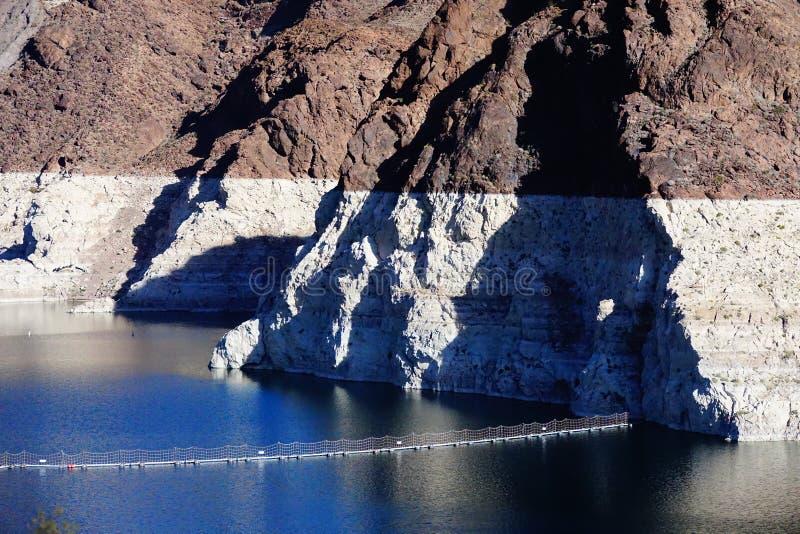 De Hoover-Dam e9 stock foto's