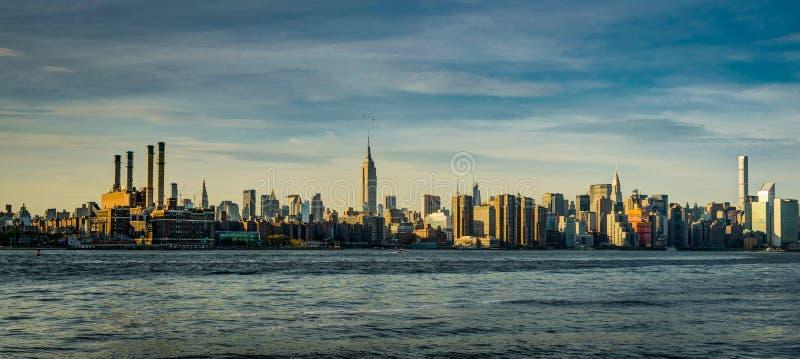 De Horizon Citiview Manhatten van New York met Empire State Building S royalty-vrije stock foto's