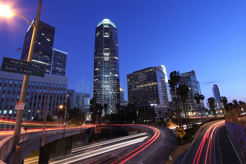 De Horizon en de Snelweg van Los Angeles royalty-vrije stock foto's