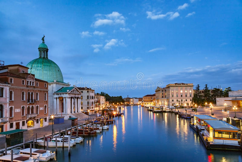 De Horizon Italië van Venetië royalty-vrije stock foto
