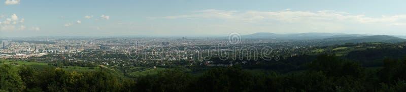 De horizon Oostenrijk van het panoramabeeld royalty-vrije stock afbeelding