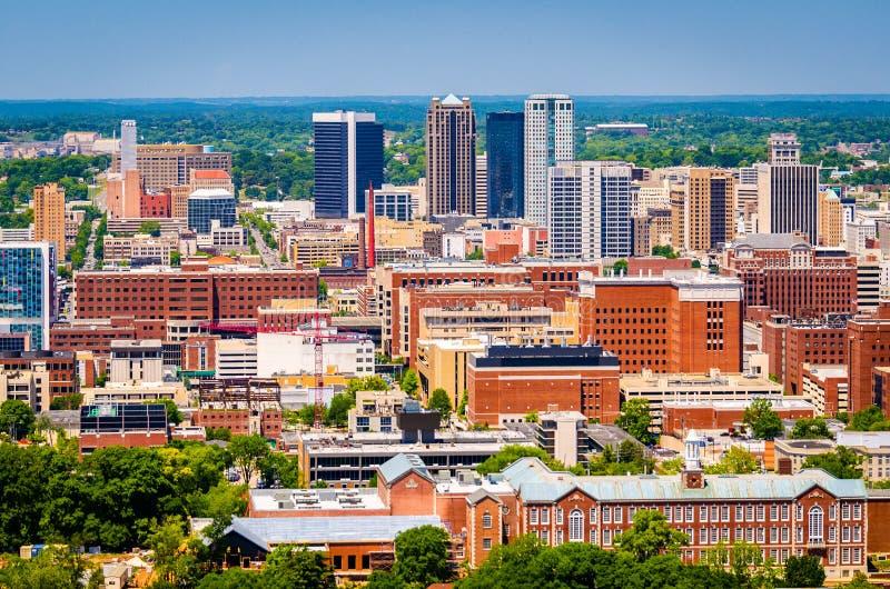 De Horizon van Birmingham, Alabama, de V.S. royalty-vrije stock afbeelding