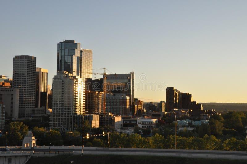 De Horizon van Calgary stock afbeeldingen