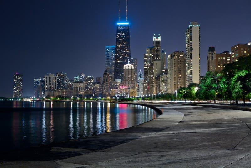 De Horizon van Chicago. royalty-vrije stock foto's