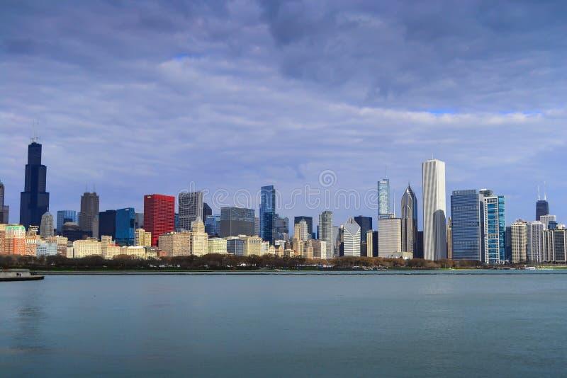 De Horizon van Chicago stock fotografie